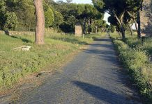 A part of the road build in time of Appius Claudius