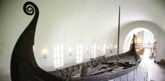 Viking ship in Oslo Museum