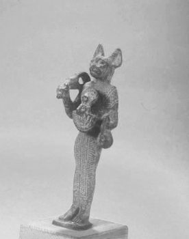 Small statue of Bastet