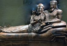 Etruscan sarcophagus example