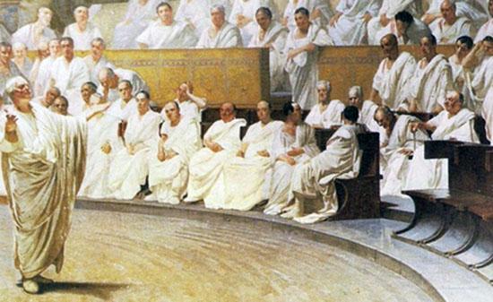 Roman Senate example scene