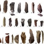 Heated stone tools and weapons from prehistoric period. Source PLOS ONE