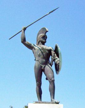 Leonidas statue