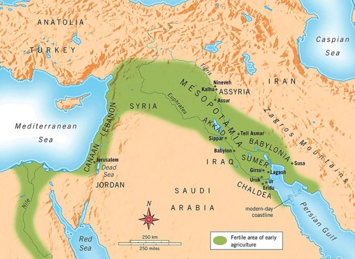mesopotamia-map