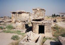 Tombs near Pammukale in Turkey.Photo by Michael Streich
