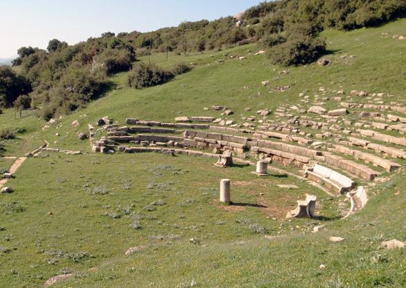 Orchomenus theatre