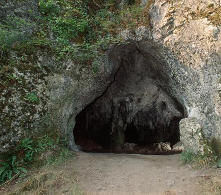 Example of cave entrance.