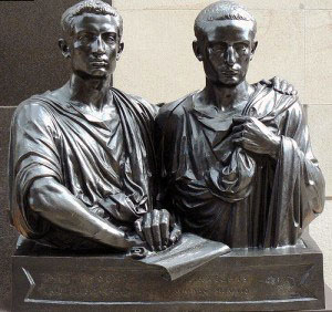 Tiberius and Gaius Sempronius Gracchus.