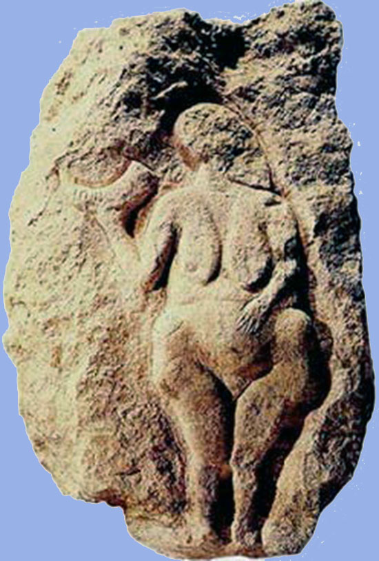 "Paleolithic ""Venus"" discovered 1908. in France"